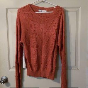 Callahan Brand Semi-sheer Sweater Size S